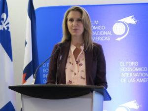 Caroline Mulroney annonce le financement provincial de l'Université de l'Ontario français
