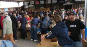 Une collecte de denrées qui fait l'unanimité à Welland