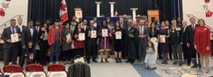 L'école Jean-Vanier accueille une cérémonie de citoyenneté