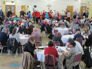 Les Filles d'Isabelle remercient la communauté avec un dîner-partage