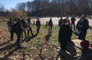 Une marche en nature avec le Centre francophone
