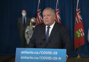 Ontario: le premier ministre Doug Ford ordonne aux résidents de rester à la maison